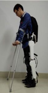 Lower limb exoskeleton robot for the elderly and the disabled
